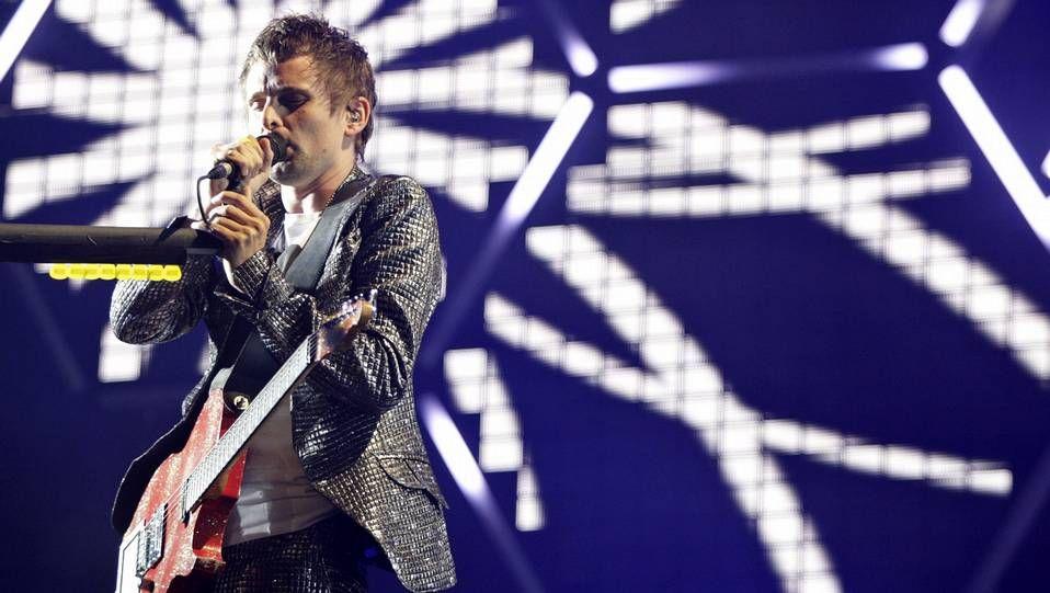 Los Critics' Choice en imágenes.Actuación de Muse en el 2010 en Santiago