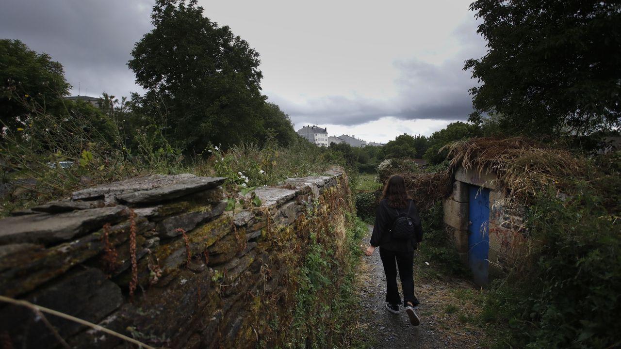 O lucense Guido Álvarez organiza visitas sensoriais polo barrio de O Carme