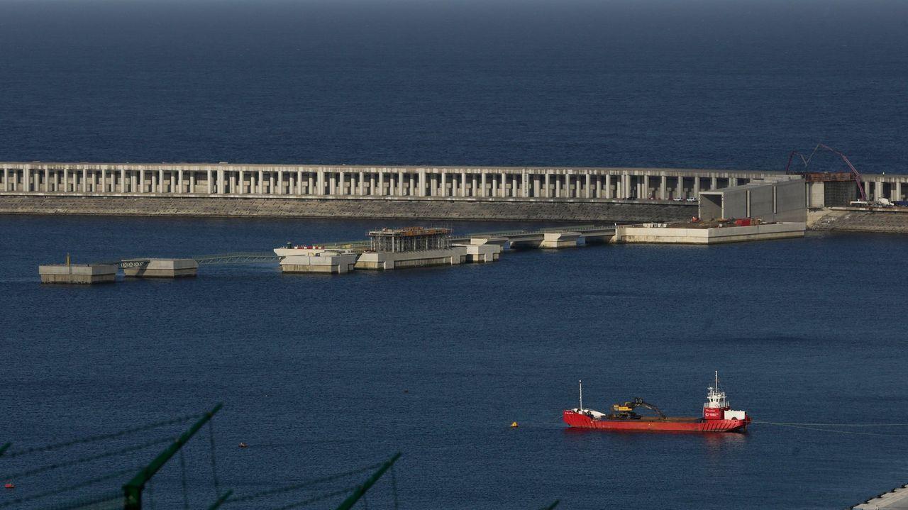 Imagen de la estación de tren de Ferrol, en foto de archivo