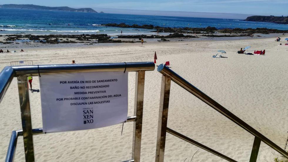 Praia Madorra.Espuma en la desembocadura del río Piles, en la playa de San Lorenzo de Gijón, en un anterior episodio de 2018