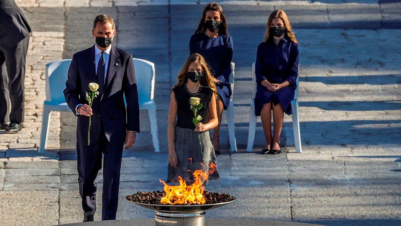 El homenaje de estado a las víctimas del coronavirus, en fotos