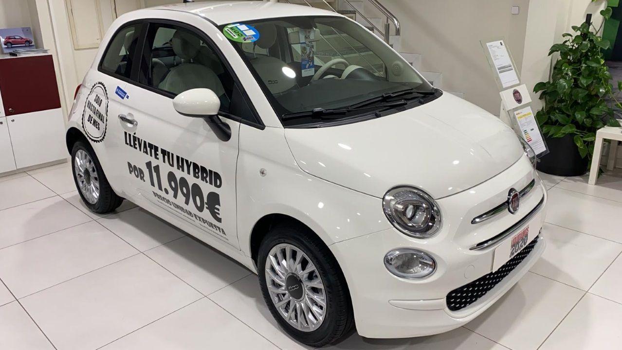 yelmo.El Fiat 500 Híbrido tiene una promoción de 4.000 euros