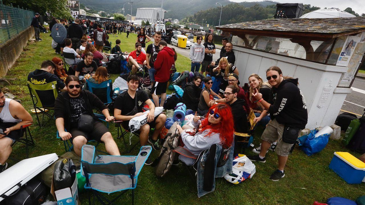 Slayer reta a la lluvia y a la tormenta en un concierto vibrante