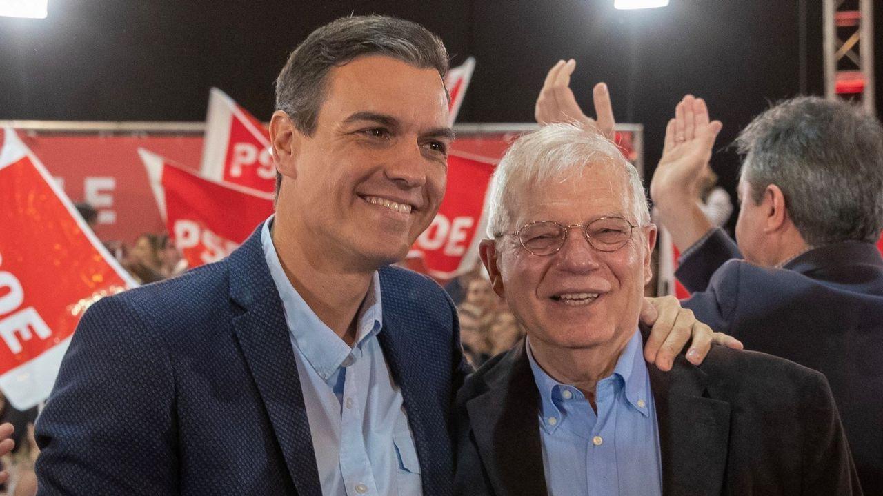 Detenido en Francia el ex dirigente de ETA Josu Ternera.El ministro de Exteriores, Josep Borrell, ayer en Ourense