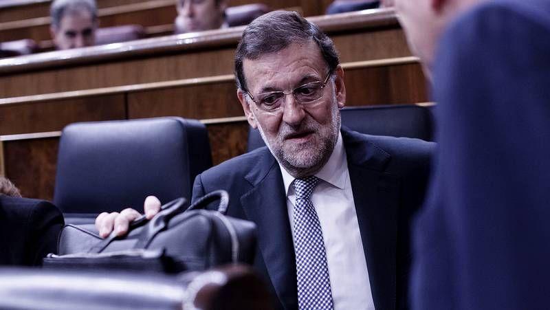 Rajoy y el presidente mexicano Enrique Peña Nieto, en Veracruz
