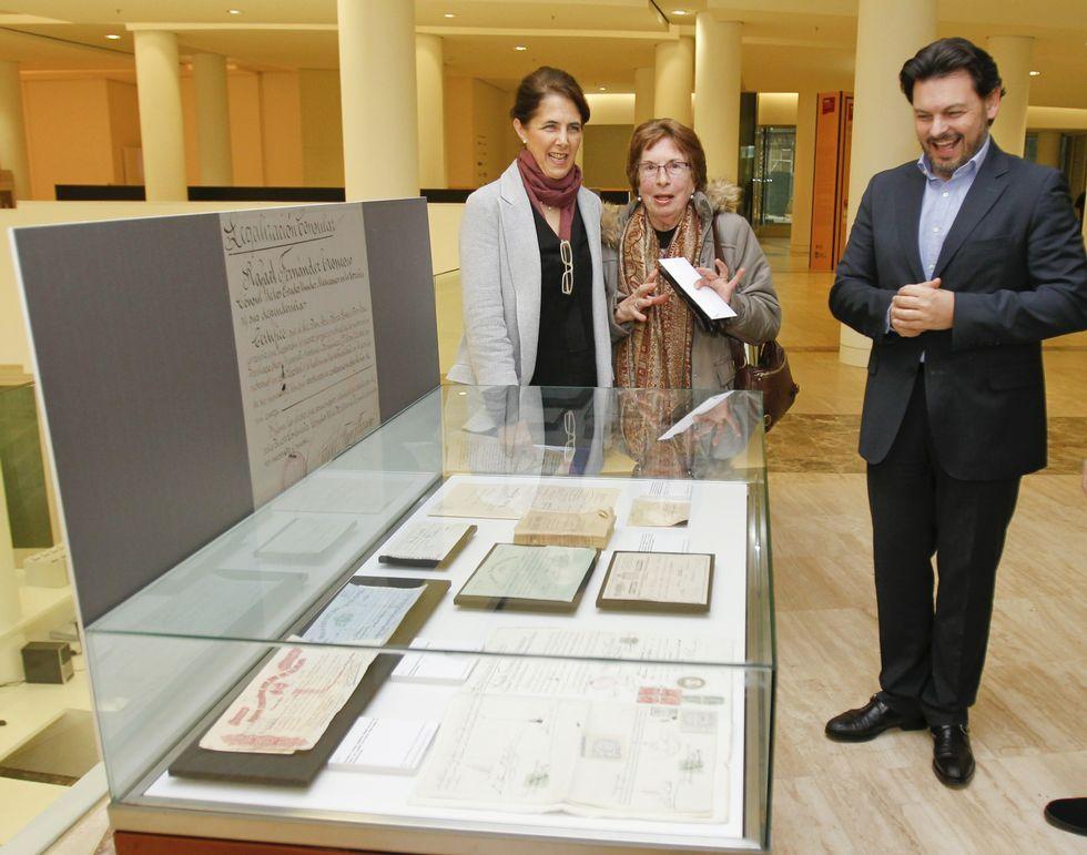 Antonio Rodríguez Miranda inauguró «Emigrantes: terras, xentes, emocións»