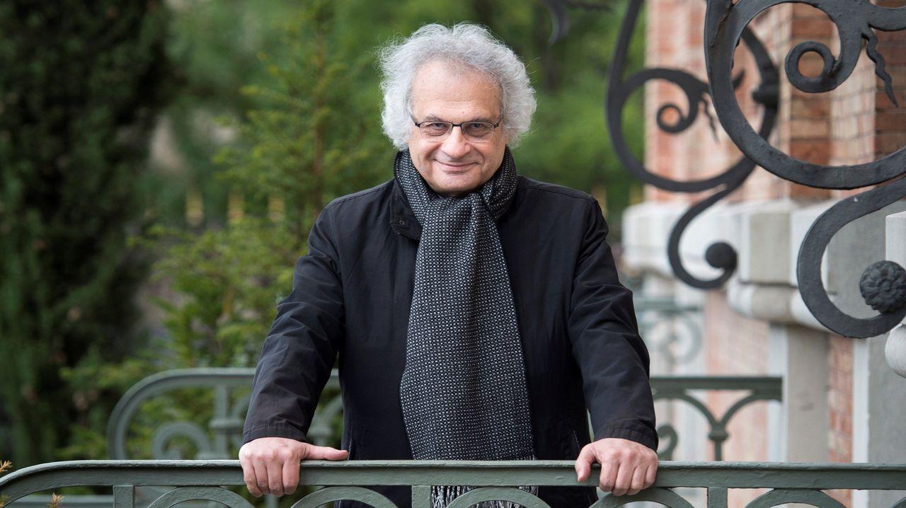 Jose Andrésagradece el 41 Premio por la Paz recibido.El escritor libanés Amin Maalouf, Premio Príncipe de Asturias de las Letras 2010