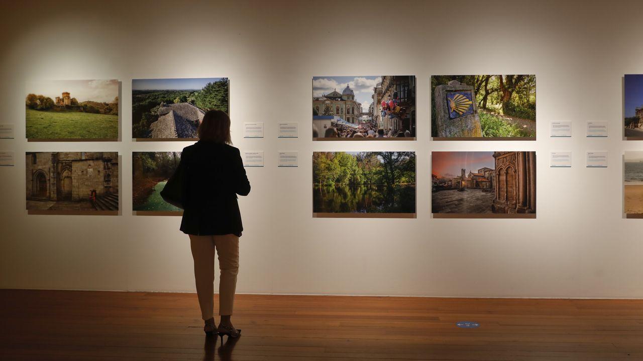 Las imágenes de Adolfo Enríquez buscan ofrecer perspectivas atípicas de los distintos parajes y aspectos de Galicia que aborda el fotógrafo