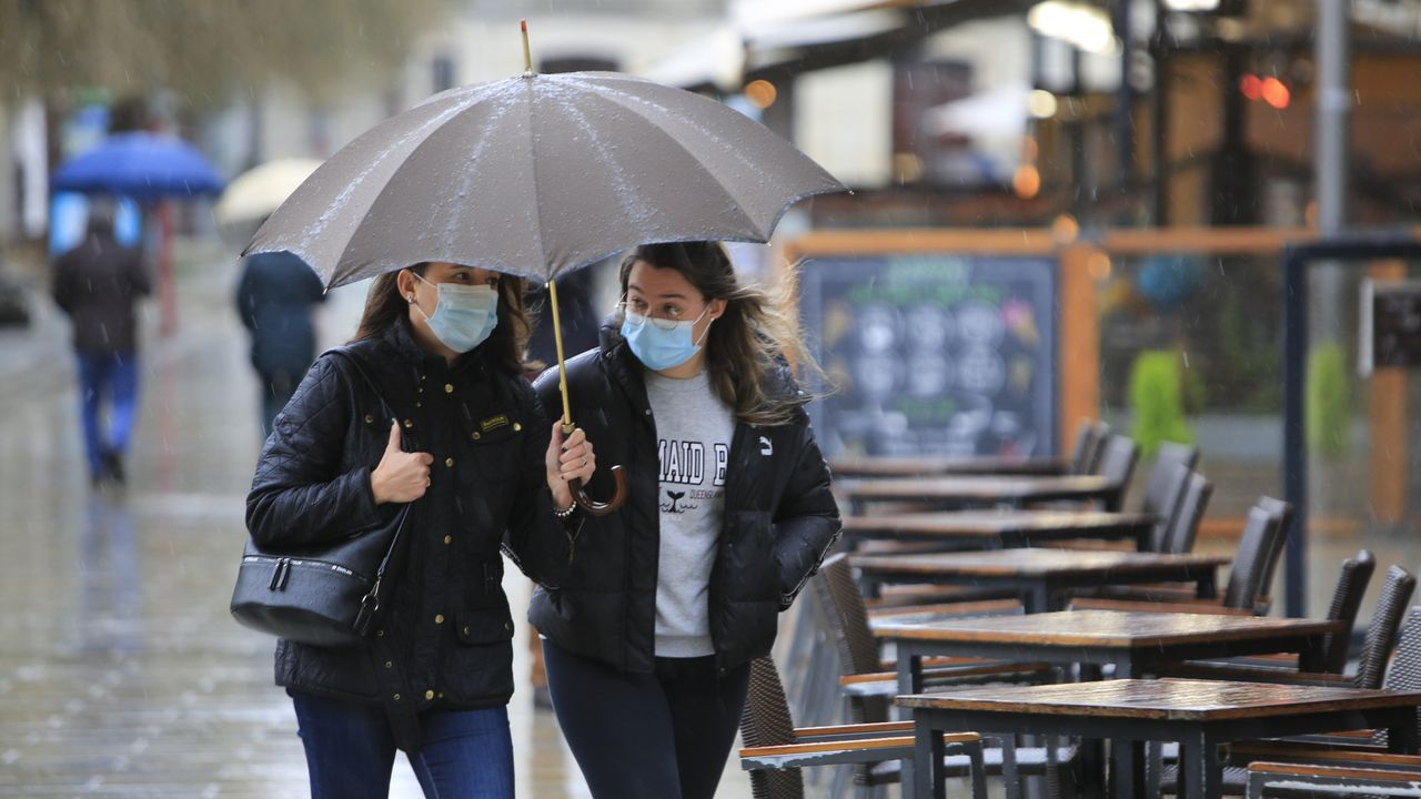 El homenaje de Ferrol al personal sanitario por San Xiao.La evolución de la pandemia en Lugo ha sido positiva en los últimos dos meses