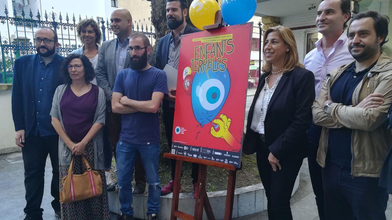 Presentación del cartel del ciclo Enfants Terribles del FICX 2017