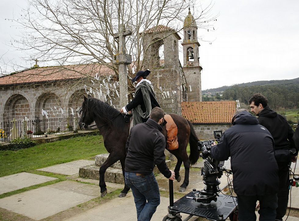 Almodóvar busca localizaciones en Mugardos y Ares.Almodóvar