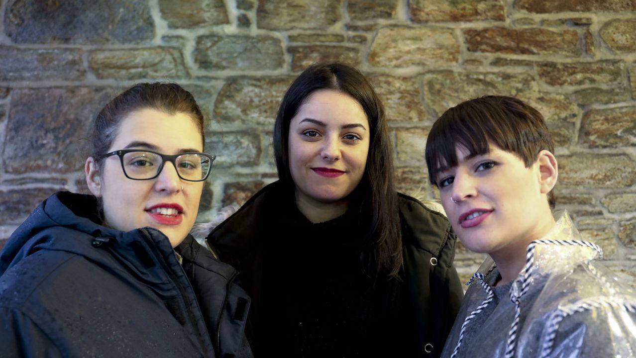 Sabela Maneiro, Aida Tarrío e Olaia Maneiro amosarán en Celanova o seu novo disco o próximo xoves