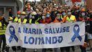 La lucha por la fábrica de aluminio se ha convertido en una lucha por la salvación de A Mariña