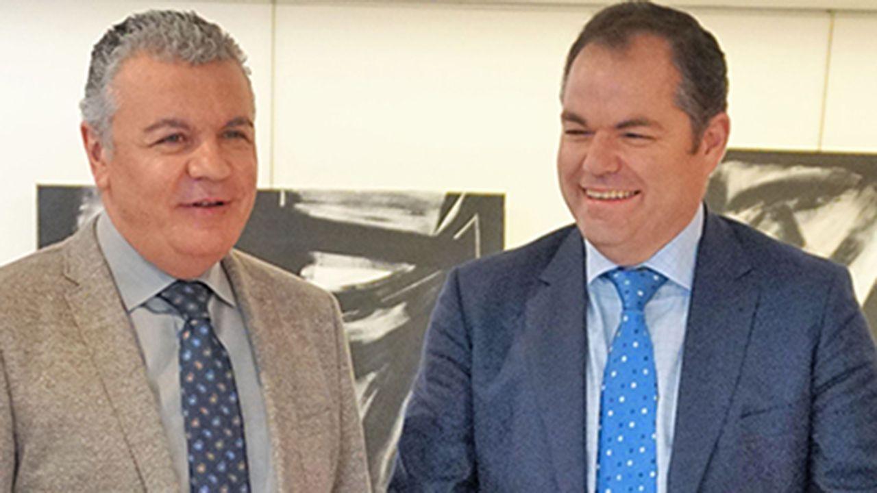 Simulación del nuevo proyecto para modificar la entrada a Oviedo por la Y.Belarmino Feito y Carlos Paniceres