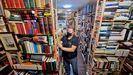 La librería de segunda mano Valín Libros está especializada en literatura gallega.