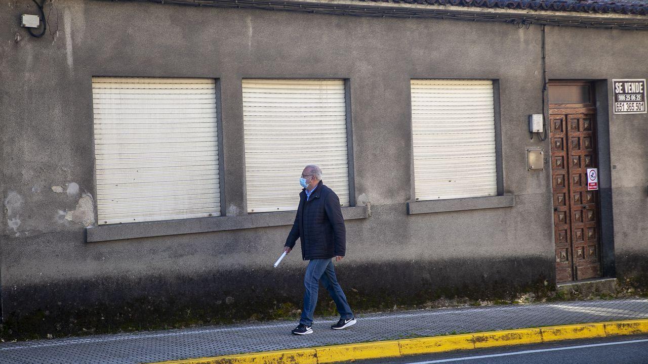 La vivienda fue okupada a comienzos del mes de marzo