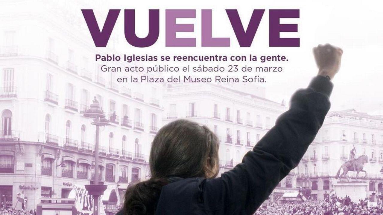 Pablo Iglesias alerta de los «poderosos» que mandan más que los ministros y que asegura van a por Podemos.Adrián Beovides, el único niño de Yernes y Tameza, lavando su coche