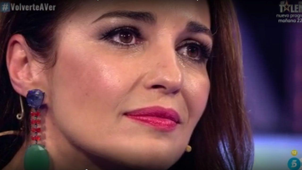 Paula Echevarría, en  un momento de «Volverte a ver»