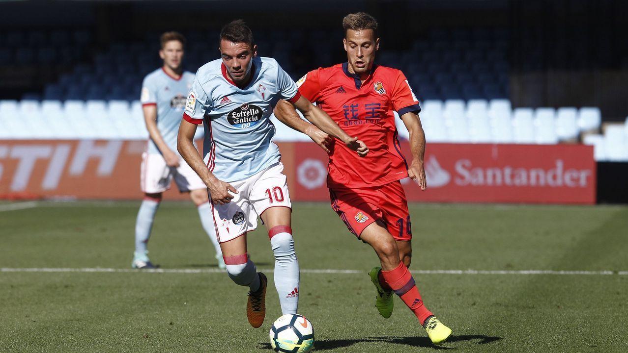 243 - Celta- Real Sociedad (2-3) de Primera el 19 de agosto del 2017
