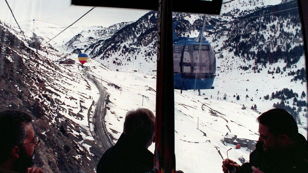 la estación invernal de Fuentes de Invierno.