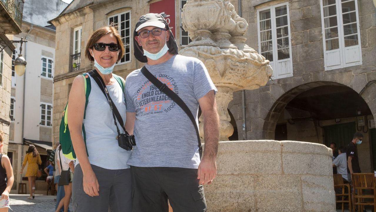 Turistas cuentan su experiencia en Lugo y cómo adoptan las medidas contra el covid-19