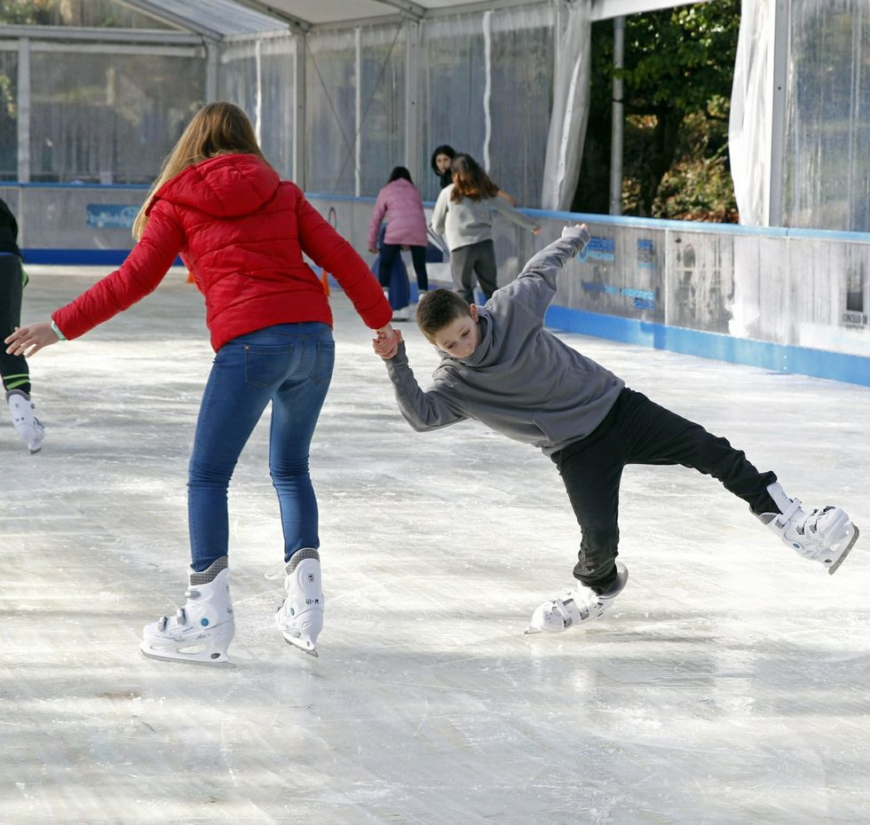Hoy, cuarto día de patinaje gratis.
