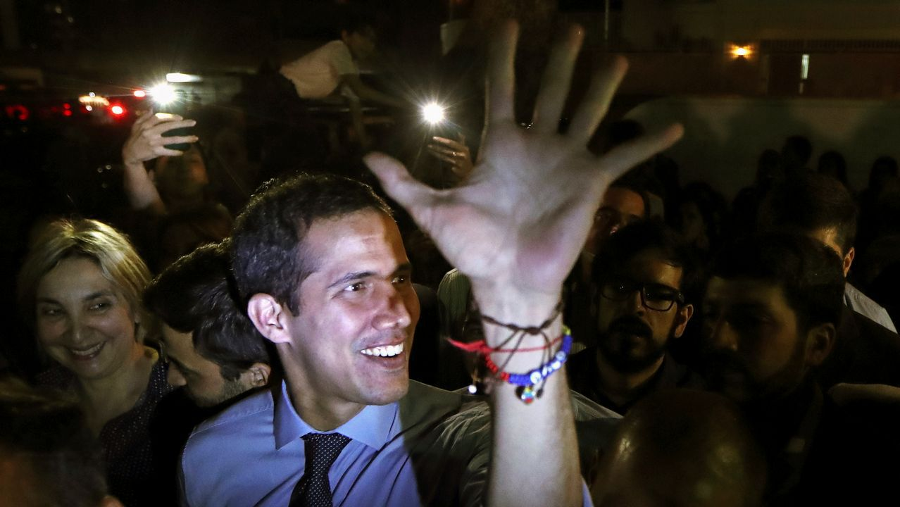 En Venezuela retrocedimos a 1920 .Juan Guaidó