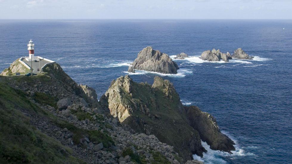 Lluvia y viento en toda Galicia.Pie de foto.
