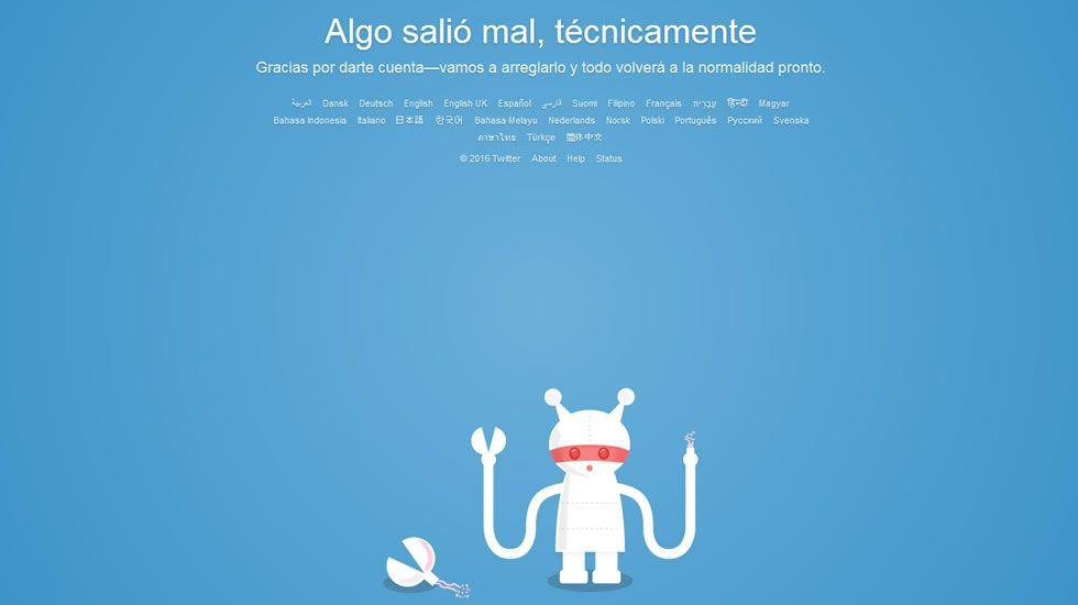 Captura de pantalla del perfil de Twitter de Madame Guillotine