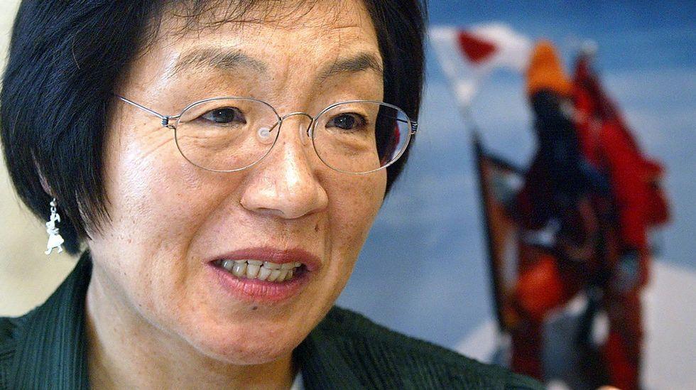 Alerta de tsunami en Fukushima, en streaming.Junko Tabei