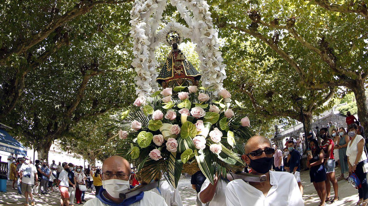 Álbum de fotos: La Guadalupe se celebró, a pesar del covid-19.Manuel Velo, ICBoiro