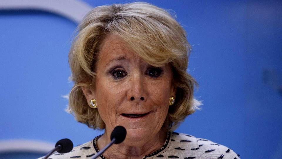 #DESPIERTA.La presidenta del PP de Madrid, Esperanza Aguirre.