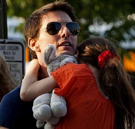 Will Smith en su primera visita al programa.Tom Cruise, con su hija.