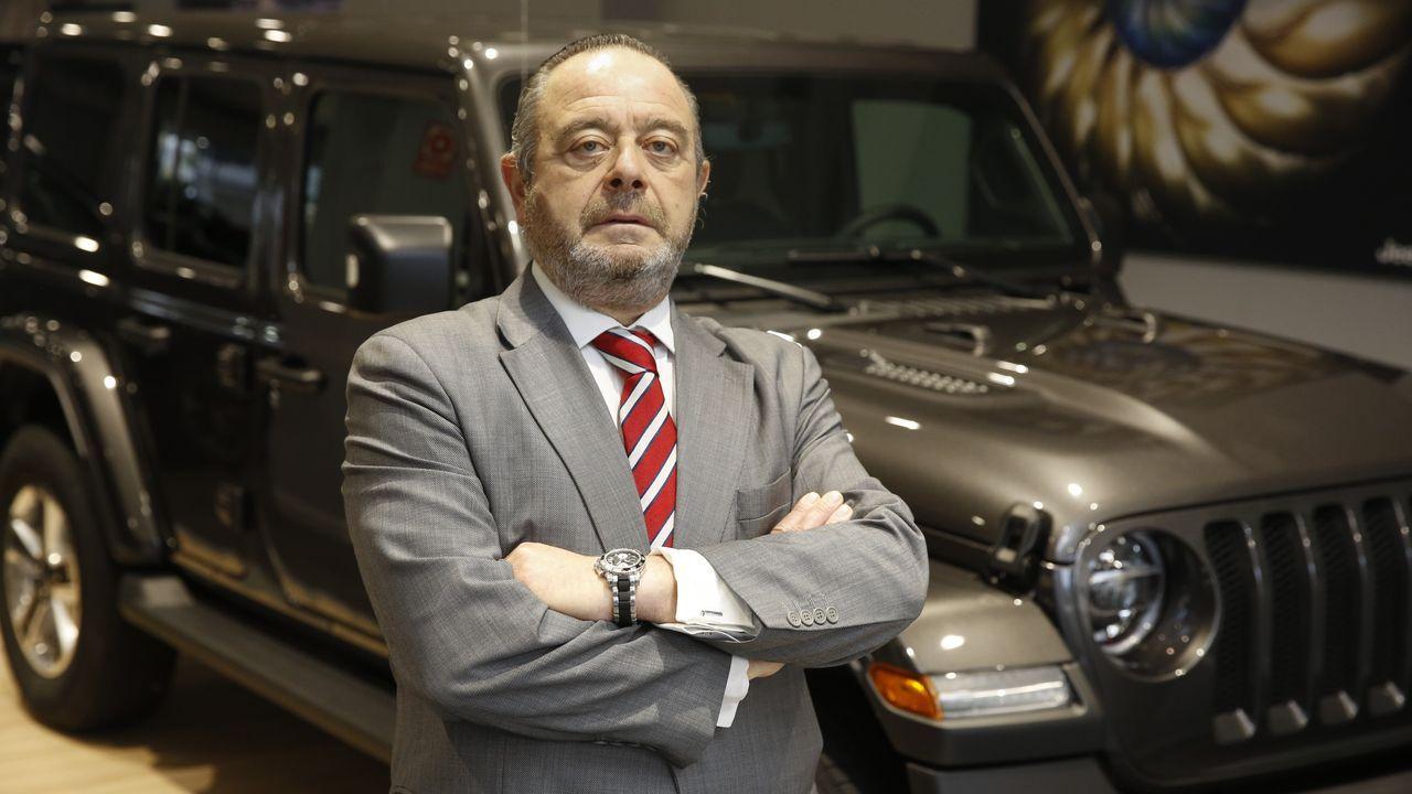 El jefe de ventas de Bonaval Car, Fernando Martínez