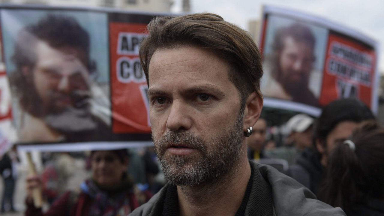 Germán Maldonado, uno de los hermanos del desaparecido