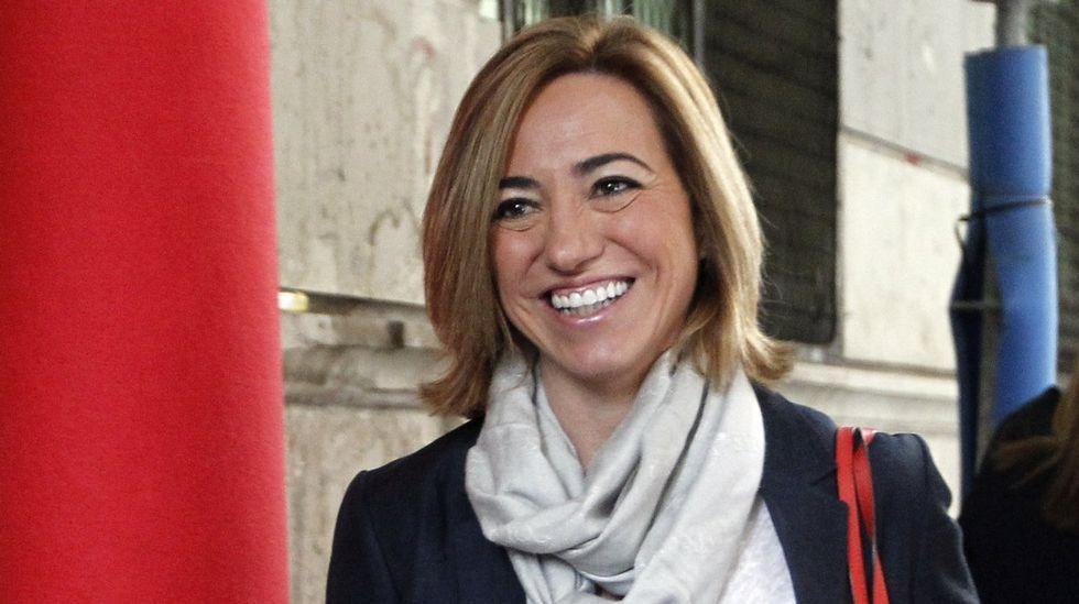 La socialista el pasado marzo en uno de sus últimos actos públicos, en la campaña de Susana Díaz
