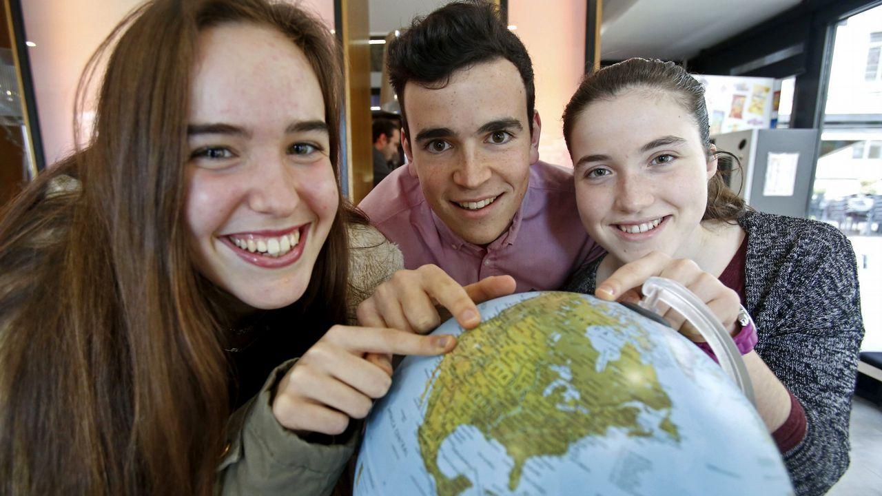 Estudiantes del programa de becas de la Fundación Amancio Ortega en Estados Unidos