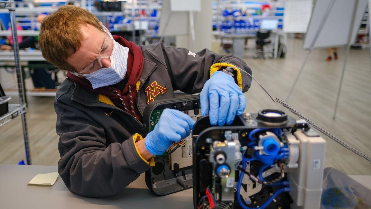 General Motors ha reconvertido su sede en Kokomo para fabricar ventiladores