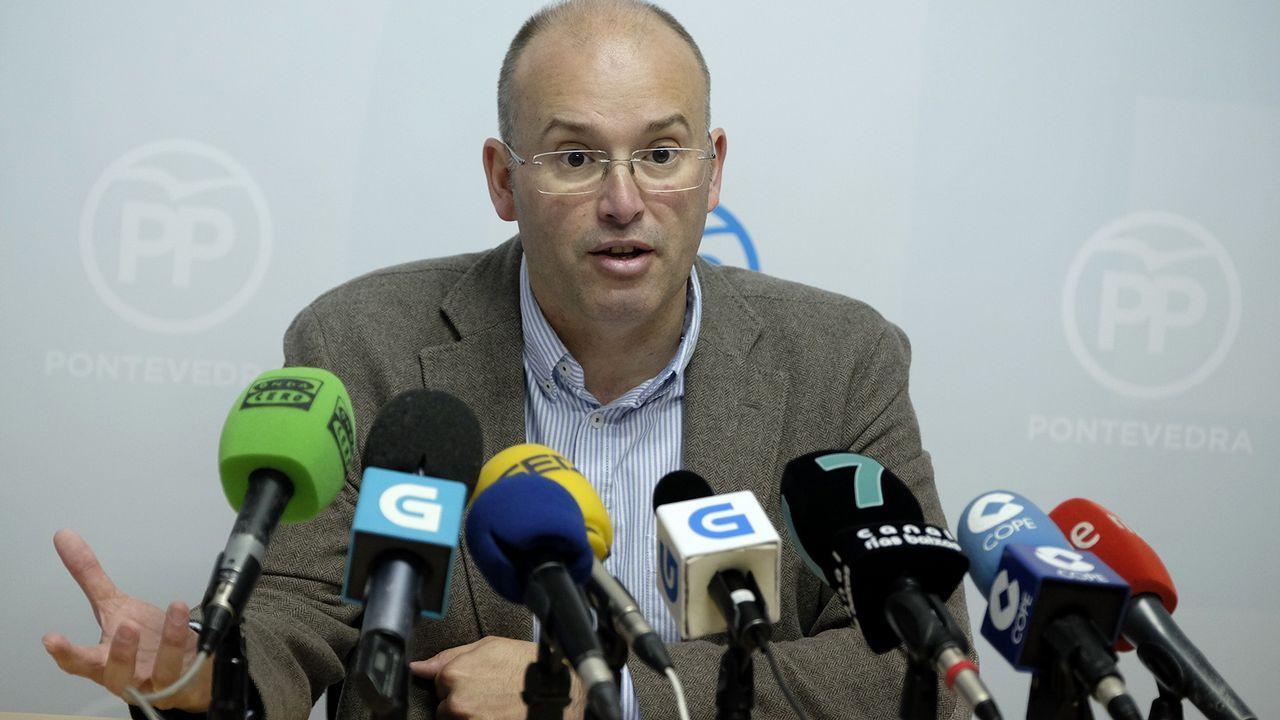 Galicia se suma a la movilización catalana por la unidad.Francisco García, alcalde de Allariz