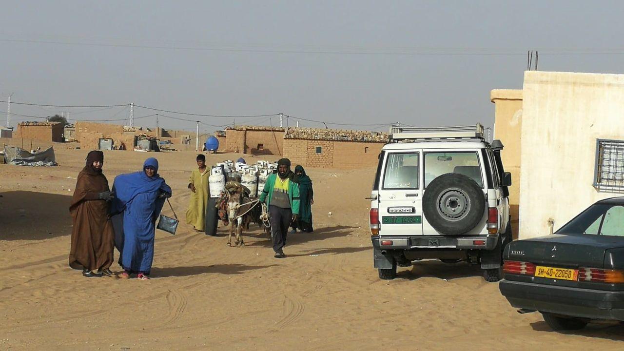 La vida en el campamento de refugiados saharahuis de Tindouf