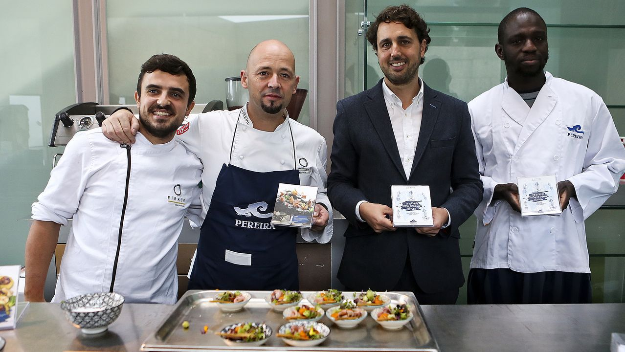 «Cocina de abordo»: las mejores recetas con calamar presentadas por Pereira
