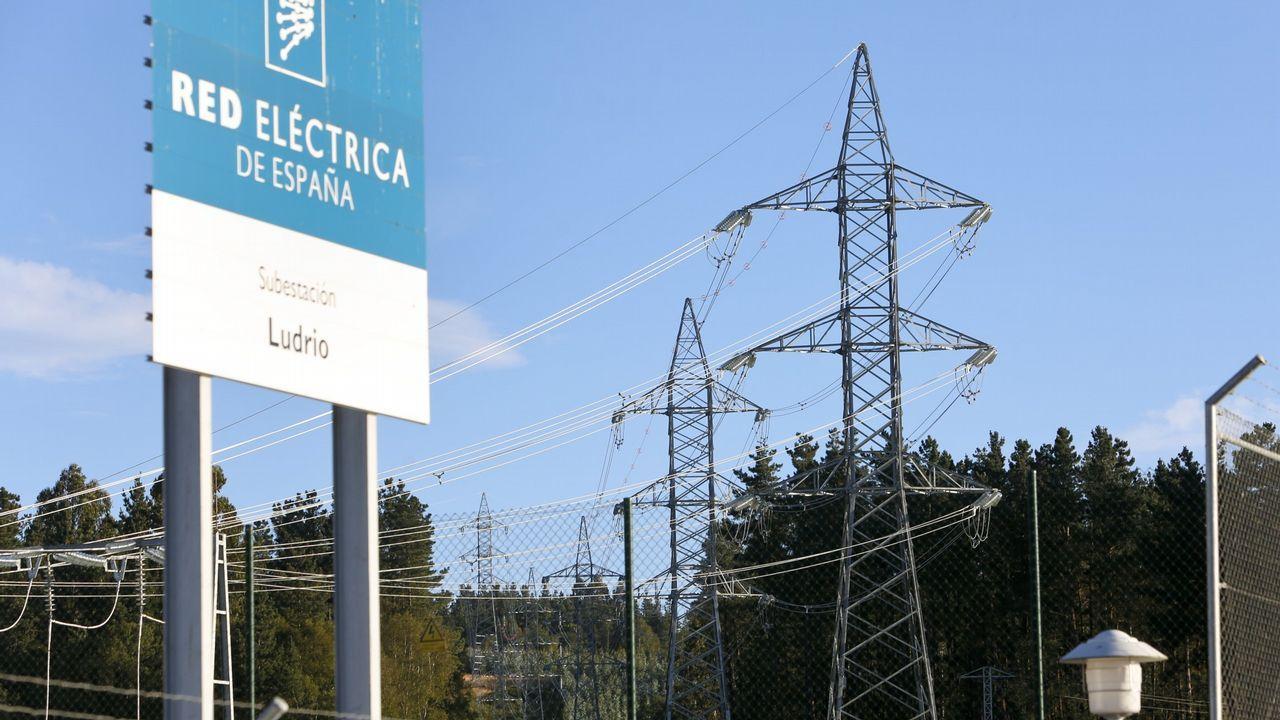 Tormenta con aparato eléctrico sobre Lugo