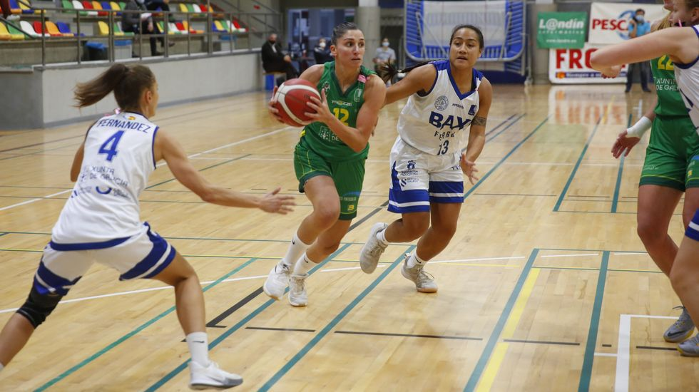 Las imágenes del partido de baloncesto Arxil - Baxi Ferrol
