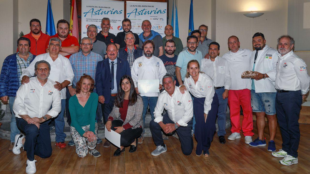 Los seleccionados como mejores panaderos de Asturias