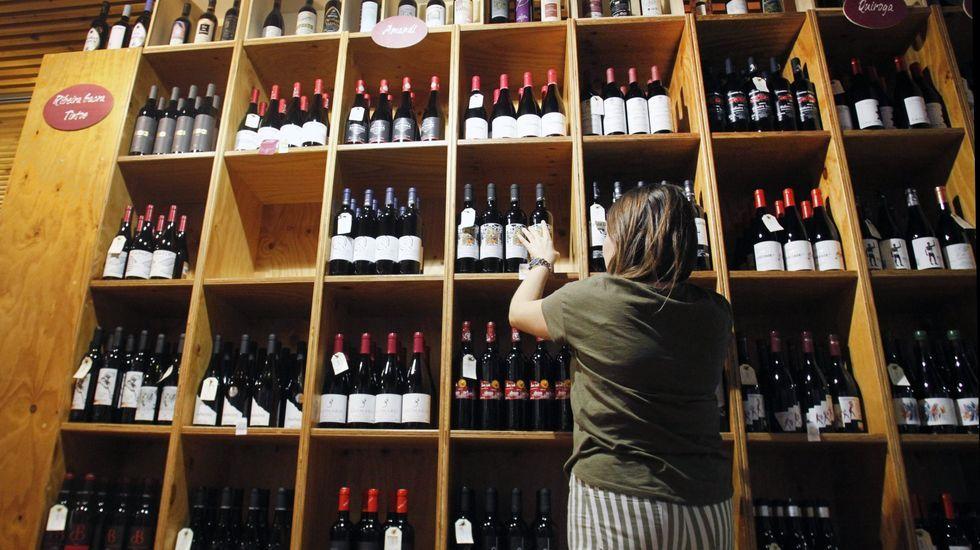 Vinoteca del Cenro do Viño da Ribeira Sacra, antes del cambio en la concesión