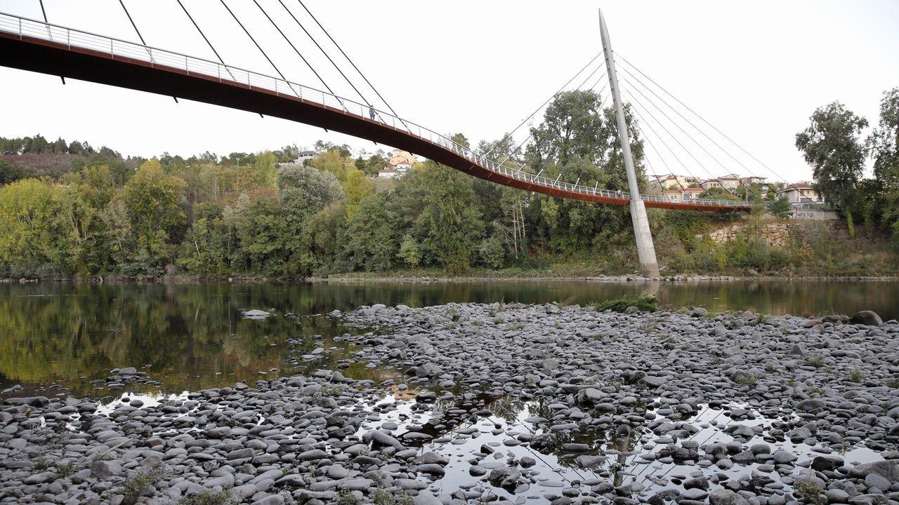 Las termas de Ourense, cerradas por la subida del Miño