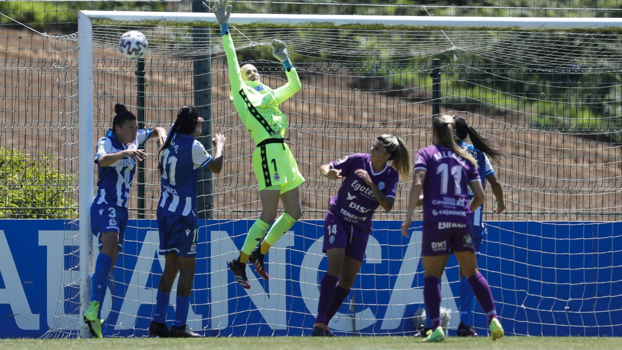 Imágenes para el recuerdo de los dos años del Deportivo femenino en Primera