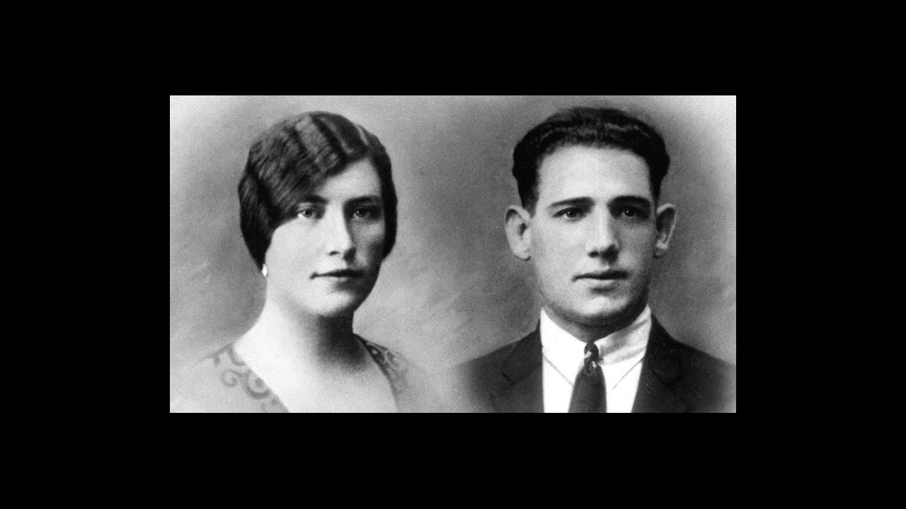 Roberta y su marido Gerardo, de jóvenes