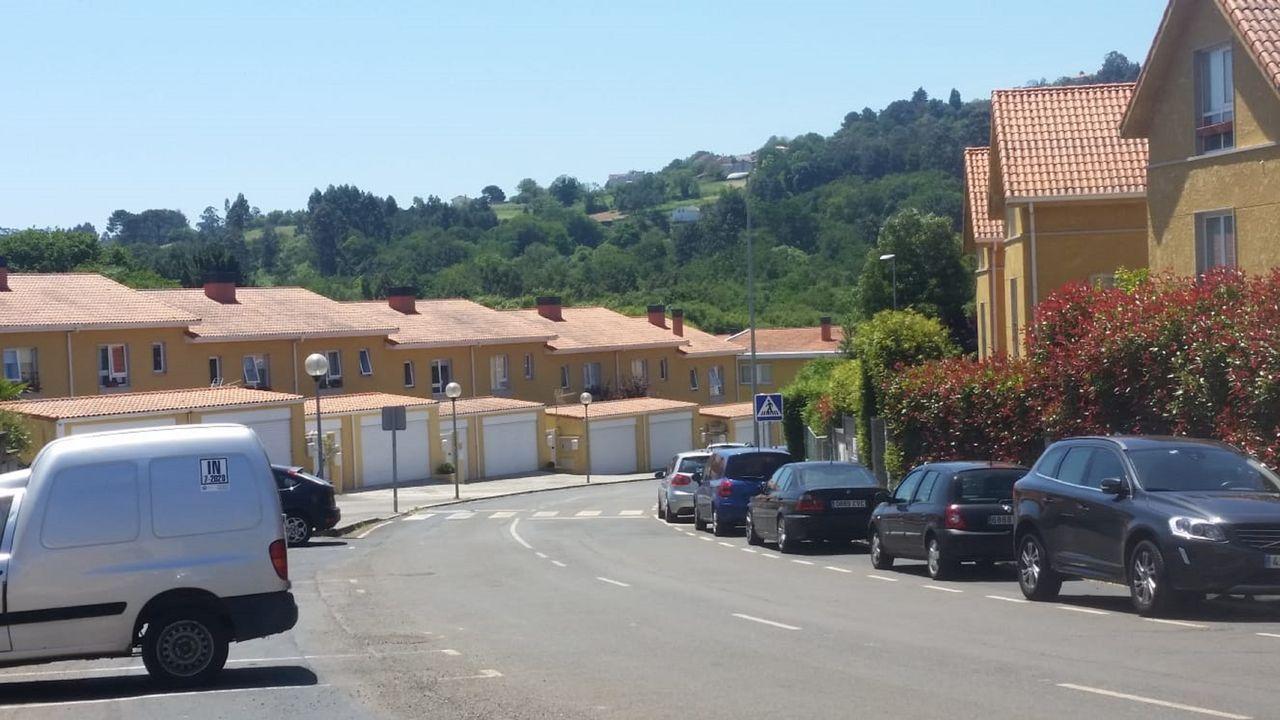 La primera casa pasiva de Galicia con certificación del Passivhaus Institut.Vista de la urbanización Pazo das Condesas, en Mugardos