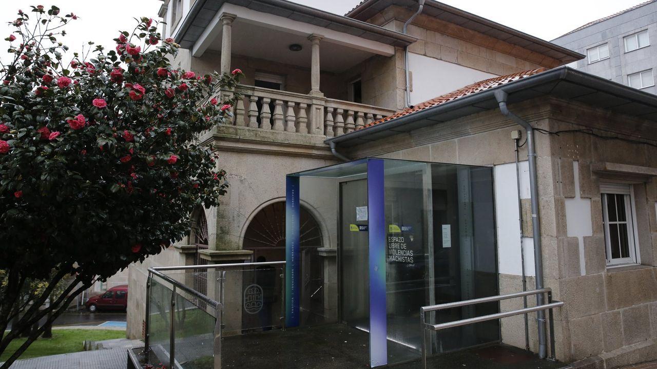 Chalé de Fontoira, sede del área de Benestar Social del Concello de Pontevedra